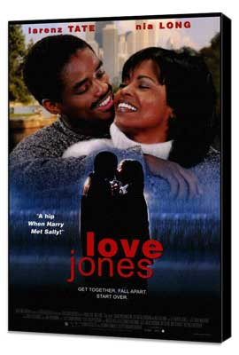 Love Jones - 27 x 40 Movie Poster - Style A - Museum Wrapped Canvas