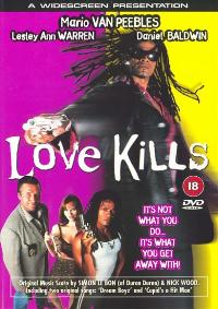 Love Kills, Two Smoking Barrels - 11 x 17 Movie Poster - UK Style A