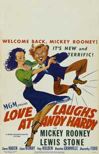 Love Laughs at Andy Hardy - 11 x 17 Movie Poster - Style B