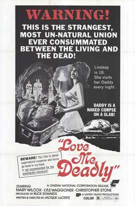 Love Me Deadly - 27 x 40 Movie Poster - Style A