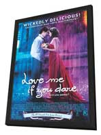 Love Me If You Dare - 27 x 40 Movie Poster - Style B - in Deluxe Wood Frame