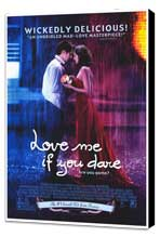 Love Me If You Dare - 27 x 40 Movie Poster - Style A - Museum Wrapped Canvas