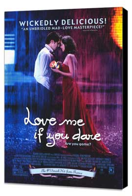 Love Me If You Dare - 11 x 17 Movie Poster - Style A - Museum Wrapped Canvas