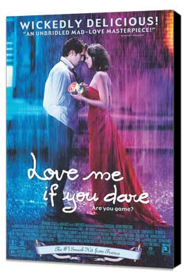 Love Me If You Dare - 27 x 40 Movie Poster - Style B - Museum Wrapped Canvas