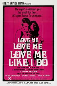 Love Me Like I Do - 11 x 17 Movie Poster - Style A