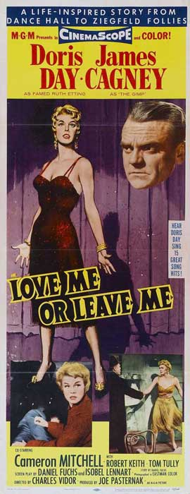 Love Me or Leave Me - 14 x 36 Movie Poster - Insert Style A