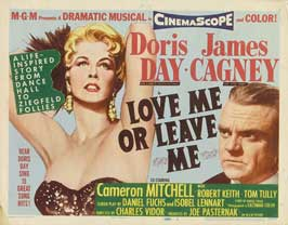 Love Me or Leave Me - 22 x 28 Movie Poster - Half Sheet Style A