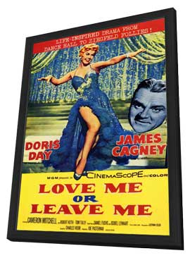 Love Me or Leave Me - 11 x 17 Movie Poster - Style A - in Deluxe Wood Frame