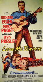 Love Me Tender - 11 x 17 Movie Poster - Style A