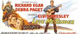 Love Me Tender - 14 x 36 Movie Poster - Insert Style A