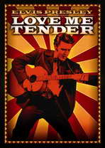 Love Me Tender - 11 x 17 Movie Poster - Style E