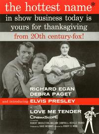 Love Me Tender - 11 x 17 Movie Poster - Style C