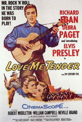 Love Me Tender - 11 x 17 Movie Poster - Style B