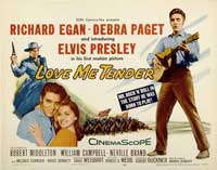 Love Me Tender - 30 x 40 Movie Poster - Style A