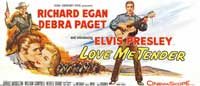 Love Me Tender - 20 x 60 - Door Movie Poster - Style A