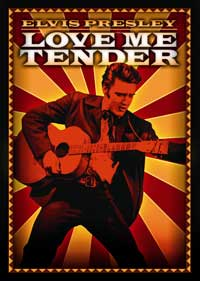 Love Me Tender - 27 x 40 Movie Poster - Style D