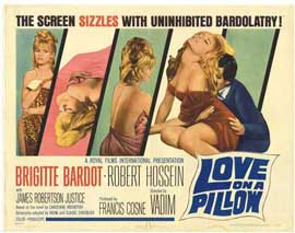 Love on a Pillow - 11 x 17 Movie Poster - Style A