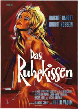 Love on a Pillow - 11 x 17 Movie Poster - German Style A