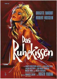 Love on a Pillow - 27 x 40 Movie Poster - German Style A