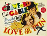 Love on the Run - 22 x 28 Movie Poster - Half Sheet Style A
