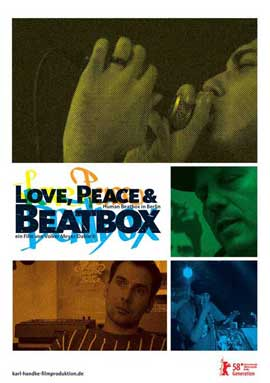 Love, Peace & Beatbox - 11 x 17 Movie Poster - German Style A
