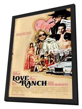 Love Ranch - 11 x 17 Movie Poster - Style A - in Deluxe Wood Frame