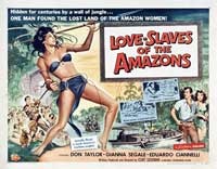 Love Slaves of the Amazons - 30 x 40 Movie Poster - Style A
