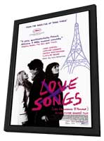 Love Songs - 11 x 17 Movie Poster - Style A - in Deluxe Wood Frame