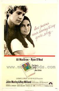 Love Story - 43 x 62 Movie Poster - Bus Shelter Style A