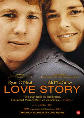 Love Story - 11 x 17 Movie Poster - French Style A