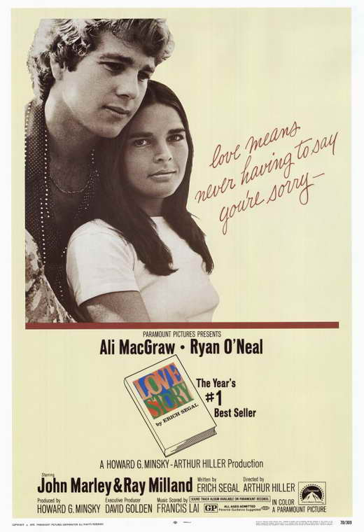 love stories Love story is a 1970 american romantic drama film written by erich segal, who was also the author of the best-selling novel of the same nameit was produced by howard g minsky and directed.