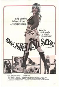 Love Swedish Style - 11 x 17 Movie Poster - Style B