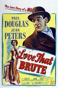 Love That Brute - 27 x 40 Movie Poster - Style A