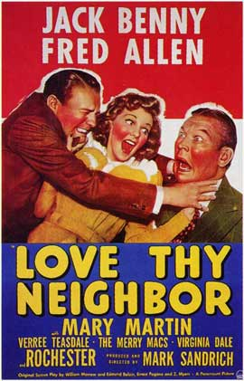Love thy Neighbor - 11 x 17 Movie Poster - Style A