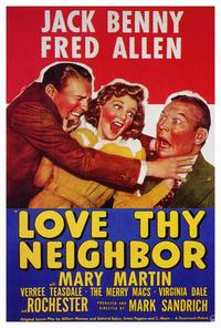 Love thy Neighbor - 27 x 40 Movie Poster - Style A