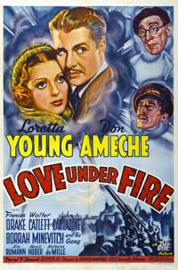 Love Under Fire - 27 x 40 Movie Poster - Style A
