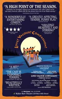 Love Valour Compassion (Broadway) - 27 x 40 Poster - Style A