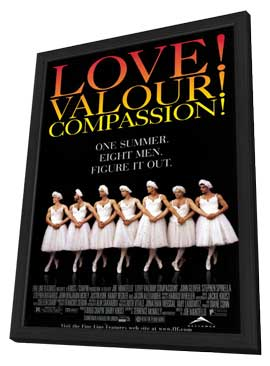 Love! Valour! Compassion! - 11 x 17 Movie Poster - Style A - in Deluxe Wood Frame