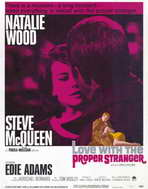 Love with the Proper Stranger - 11 x 17 Movie Poster - Style B