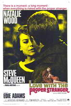 Love with the Proper Stranger - 27 x 40 Movie Poster - Style B