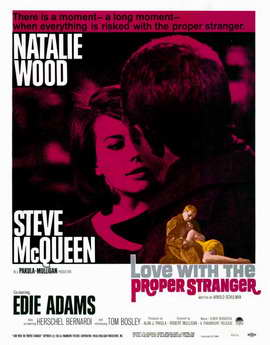 Love with the Proper Stranger - 11 x 17 Movie Poster - Style A