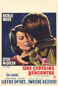 Love with the Proper Stranger - 11 x 17 Movie Poster - Belgian Style A