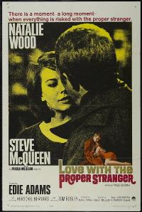 Love with the Proper Stranger - 43 x 62 Movie Poster - Bus Shelter Style A