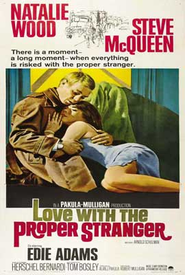 Love with the Proper Stranger - 27 x 40 Movie Poster - Style C