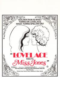Lovelace Meets Miss Jones - 43 x 62 Movie Poster - Bus Shelter Style A