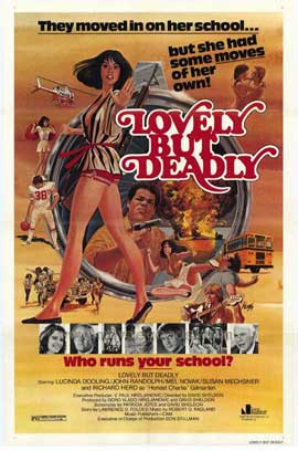 Lovely But Deadly - 11 x 17 Movie Poster - Style A