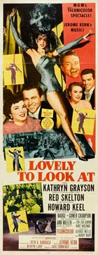 Lovely to Look at - 14 x 36 Movie Poster - Insert Style A