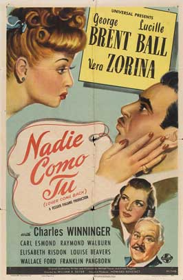 Lover Come Back - 11 x 17 Movie Poster - Danish Style A