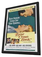 Lover Come Back - 27 x 40 Movie Poster - Style A - in Deluxe Wood Frame