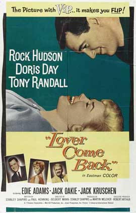 Lover Come Back - 11 x 17 Movie Poster - Style A